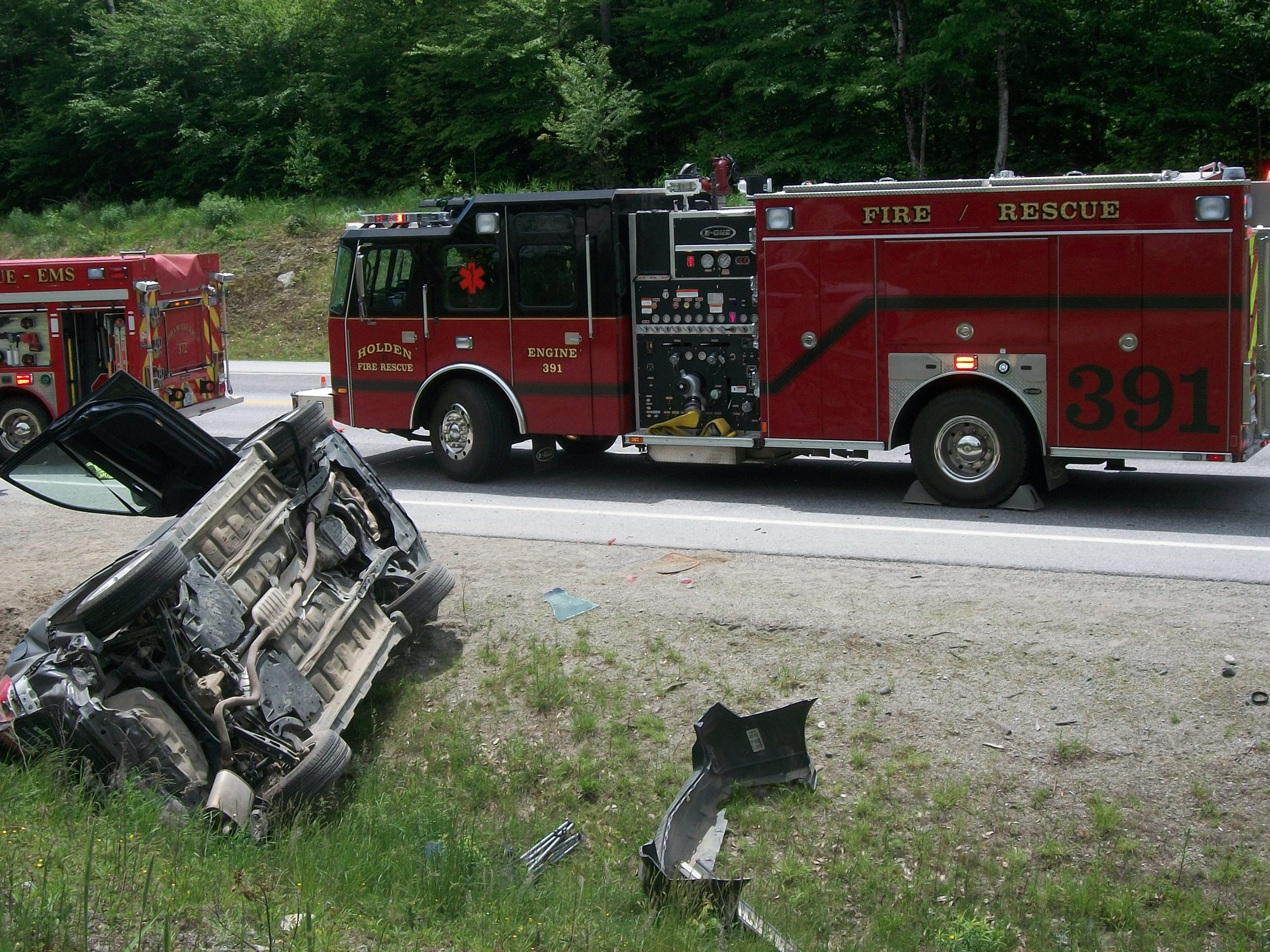Traffic incident management extrication