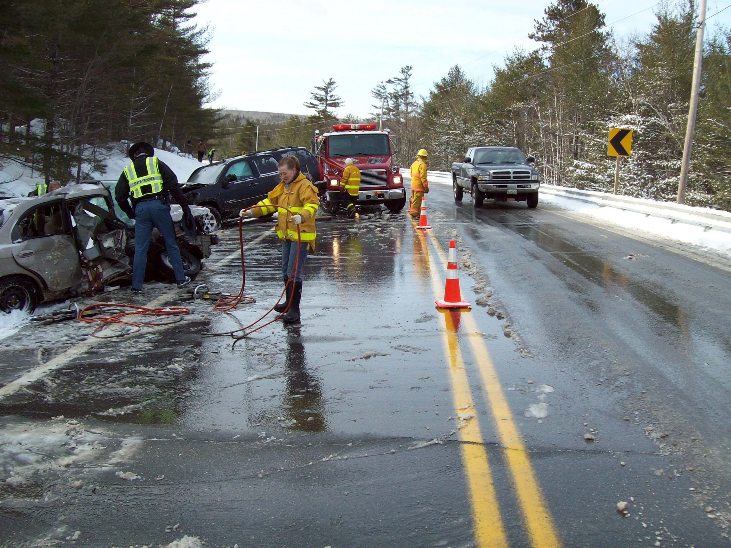 traffic incident management Route 9